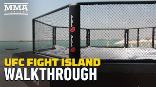 UFC 251: Fight Island Tour  - MMA Fighting by MMA Fighting