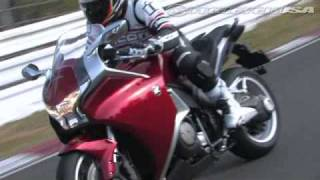 6. 2010 Honda VFR1200F Motorcycle Review
