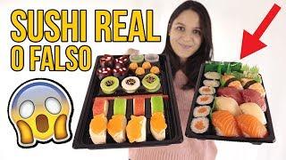 Video Sushi REAL vs FAKE MP3, 3GP, MP4, WEBM, AVI, FLV Agustus 2018