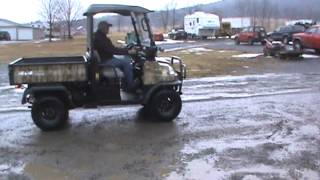 2. 2009 Kubota RTV900 UTV Utility Vehicle 4x4 Diesel Side By Side Hydro For Sale