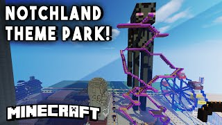 NOTCHLAND EP2 - Haunted Houses, Rodeos, Rollercoasters & More! (Theme Park Adventure)