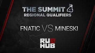 Fnatic vs Mineski, game 3