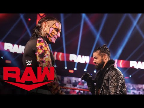 Jeff Hardy crashes Seth Rollins' farewell address: Raw, Oct. 12, 2020