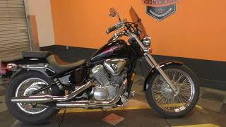 10. 800934   2007 Honda Shadow VLX   VT600C - Used motorcycles for sale