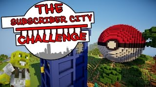 Pokeball & The Tardis!! | The Subscriber City Challenge | Ep.11