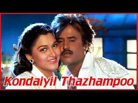 Video Tamil Songs | Annamalai | Kondaiyil Thazhampoo | S.P.B & Chithra Songs | Rajinikanth, Kushboo download in MP3, 3GP, MP4, WEBM, AVI, FLV January 2017
