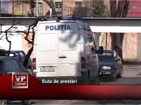 Suta de arestări