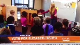 """Let It Go\"" Durham Academy K Students - Elizabeth South & Phil Sanchez on WNCN"