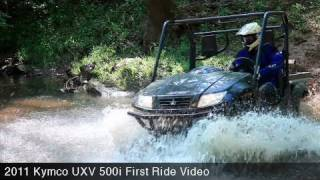 5. MotoUSA First Ride:  2011 Kymco UXV 500i First Ride Video