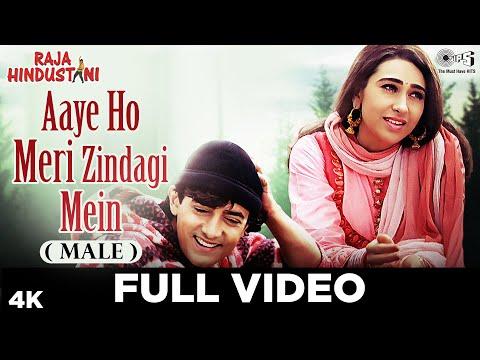 Video Aaye Ho Meri Zindagi Mein (Male) - Raja Hindustani | Aamir Khan & Karisma Kapoor | Udit Narayan download in MP3, 3GP, MP4, WEBM, AVI, FLV January 2017
