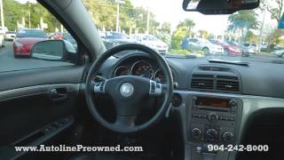 Autoline Preowned 2009 Saturn Aura XR For Sale Used Walk Around Review Test Drive Jacksonville