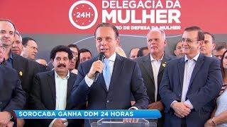 Governo inaugura primeira Delegacia de Defesa da Mulher 24h no interior