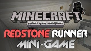 "Minecraft: Xbox 360 - ""Redstone Runner"" W/ Download [PC Re-make] (Mini-Game Review)"