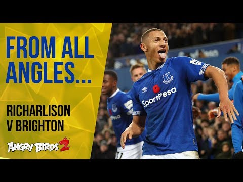 Video: FROM ALL ANGLES: RICHARLISON ROUNDS THE 'KEEPER!