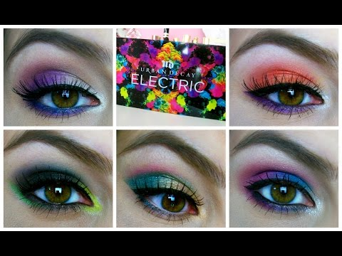 electric - Details on ALL looks on my Electric Challenge blog posts! http://bit.ly/ECallblogs Check out Kristin's Electric Challenge video! http://bit.ly/kristinEC NEW- Top 5 Multi-Purpose Face Palettes...