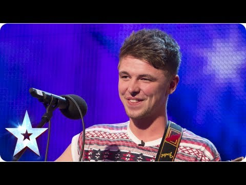 Jordan O'Keefe sings One Direction's 'Little Things' – Week 2 Auditions | Britain's Got Talent 2013