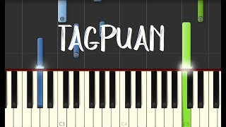 Video Moira Dela Torre - TAGPUAN || Synthesia Piano Tutorial MP3, 3GP, MP4, WEBM, AVI, FLV Juni 2018