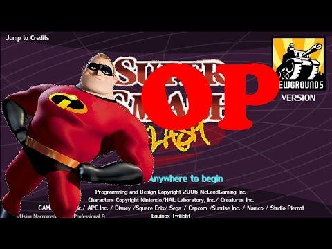 Super Smash Flash:Mr.Incredible Is OP!