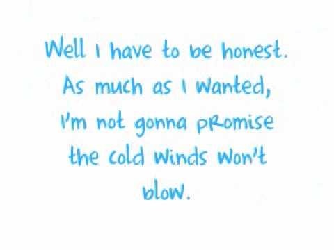Never Alone - Lady Antebellum (lyrics)