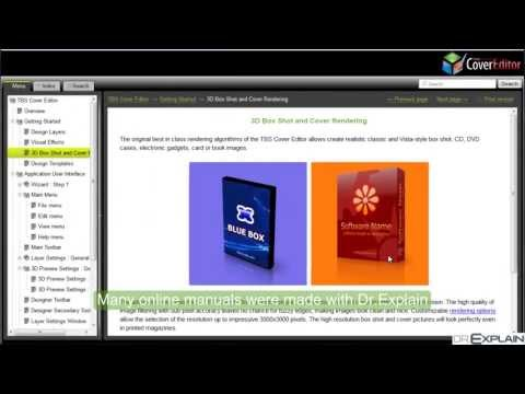How To Create Online Help Manual Webhelp With Dr Explain