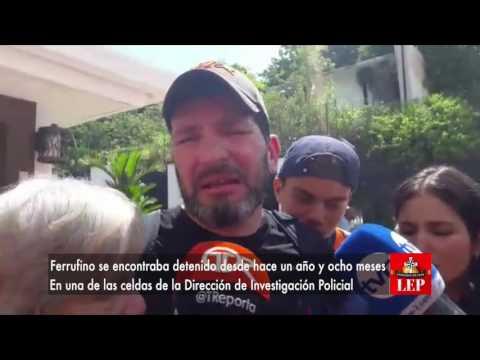 Casa por cárcel para Guillermo Ferrufino, así lo confirmó su abogado.