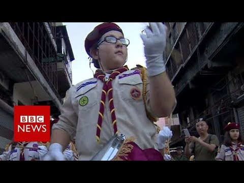 A tour of Syria - with the Russian military - BBC News