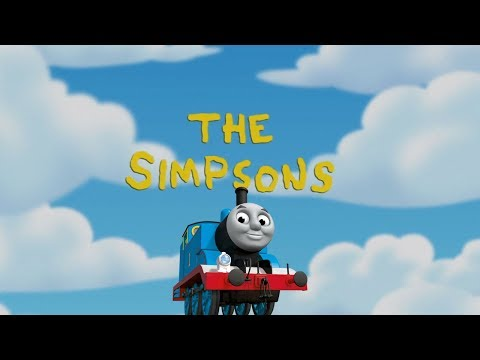 Thomas the Tank Engine References in The Simpsons