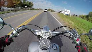 7. How fast is the Honda Shadow 750 0-60