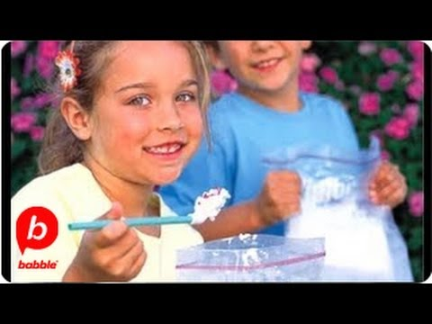 MAKE Homemade Ice Cream In A Bag | Summer | Food & Cooking | Babble