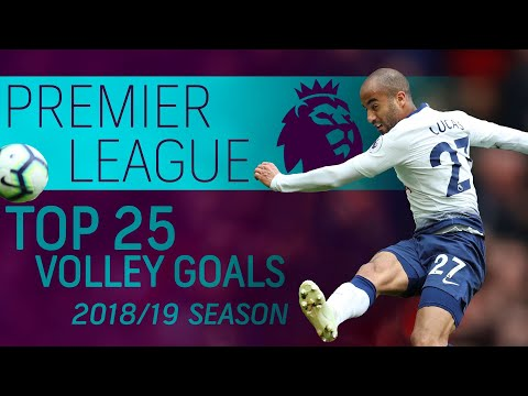 Top 25 volley goals of the 2018-2019 Premier League season | NBC Sports