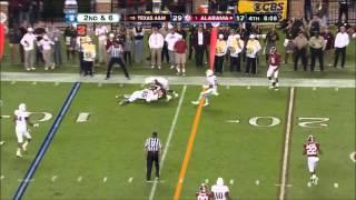 AJ McCarron vs Texas A&M (2012)