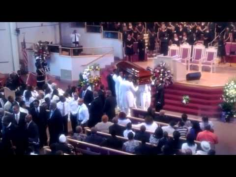 Awsome Funeral That uses Angels for Pall Bearers in New Orleans