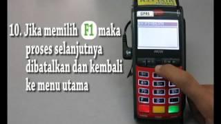 Pembelian PLN Pra Bayar (Token) Mini ATM Bukopin