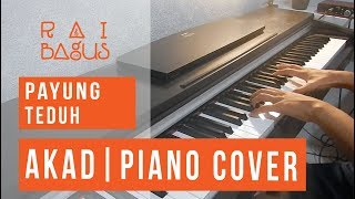 Video Payung Teduh - Akad Piano Cover MP3, 3GP, MP4, WEBM, AVI, FLV Mei 2018