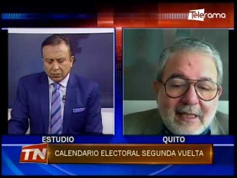 Hacia Dónde Vamos: Calendario electoral segunda vuelta