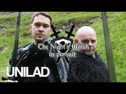 Being stopped and searched by the Night's Watch