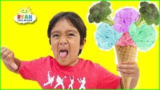 Ryan sing along Do you like Broccoli Ice Cream + More Nursery Rhymes Songs for Kids!!!