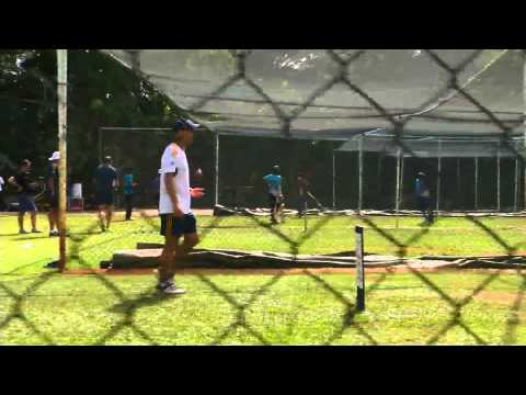 Mahela coaching Tamil kids in the north (cell phone footage)