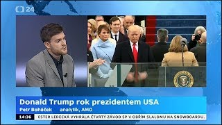 Donald Trump rok prezidentem USA