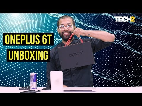 OnePlus 6T Unboxing | In-display Fingerprint Scanner, Snapdragon 845