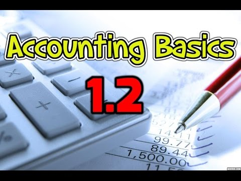 Accounting Basics 1.2 – Income Statement