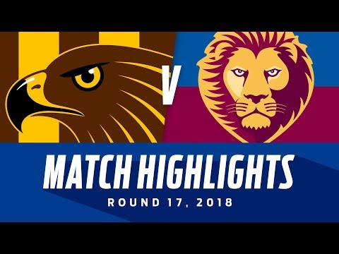 Hawthorn V Brisbane Lions Highlights | Round 17, 2018 | AFL