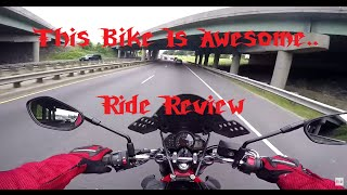 4. Suzuki SFV650 Gladius  Ride Review