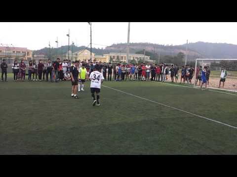 Sút luân lưu chung kết Bóng đá nữ FEBA CUP 2013