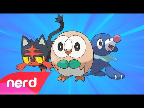 Video PokeRap Alola Version! | Pokemon Sun & Moon | #NerdOut download in MP3, 3GP, MP4, WEBM, AVI, FLV January 2017