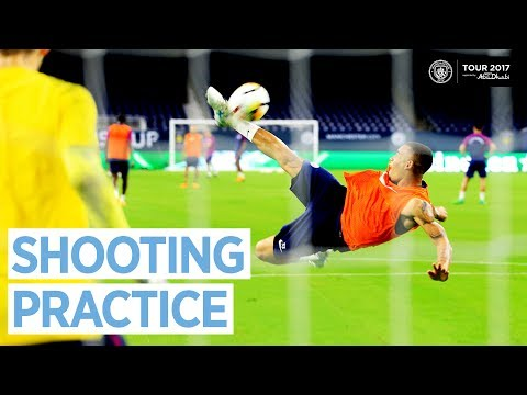 Video: MAN CITY SHOOTING PRACTICE! | Man City US Tour Open Training Day 3