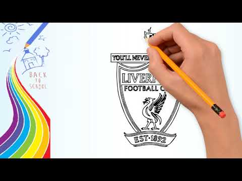 How To Draw-How To Draw Liverpool  Badge - Drawing The Liverpool Logo (FC) | Drawing Logo Channel