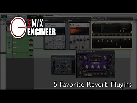 Top 5 Favorite Reverb Plugins