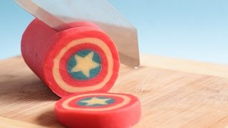Video Captain America Shield Cookie Log- Rosie's Dessert Spot MP3, 3GP, MP4, WEBM, AVI, FLV Juli 2019