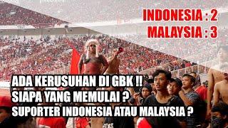 Video INI REAKSI SUPORTER KETIKA INDONESIA KALAH DI RUMAH SENDIRI (INDONESIA VS MALAYSIA 2-3) MP3, 3GP, MP4, WEBM, AVI, FLV September 2019